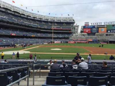Yankee Stadium, vak: 116, rij: 19, stoel: 18