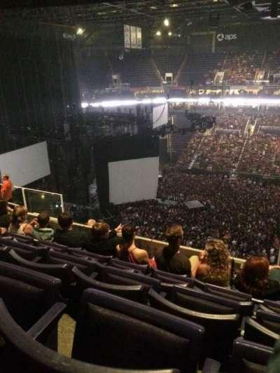 Talking Stick Resort Arena, vak: 219, rij: 10, stoel: 4
