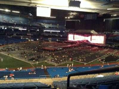 Rogers Centre, vak: 218L, rij: 13, stoel: 101
