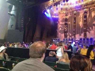 Saratoga Performing Arts Center, vak: 1, rij: 5, stoel: End seat