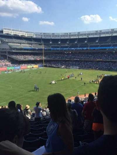 Yankee Stadium, vak: 231, rij: 16