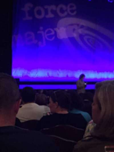 Count Basie Theatre, vak: Orch, rij: R, stoel: 17