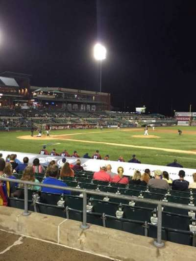TD Bank Ballpark, vak: 213, rij: K, stoel: 15