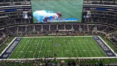 AT&T Stadium, vak: 413, rij: 30, stoel: 1