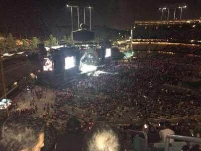Dodger Stadium, vak: 39RS, rij: T, stoel: 1