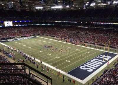 The Dome at America's Center, vak: 407, rij: BB, stoel: 1