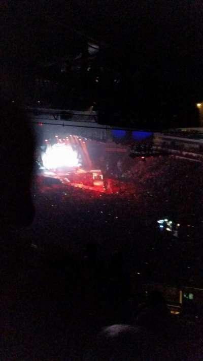 Intrust Bank Arena, vak: 212, rij: 7?, stoel: 1