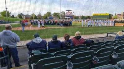 Silver Cross Field, vak: 107, rij: E, stoel: 10