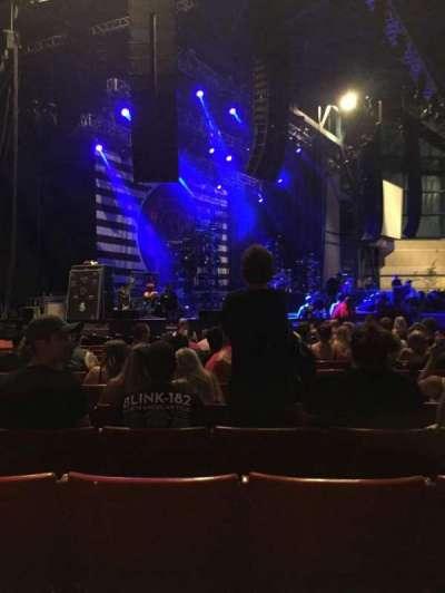 American Family Insurance Amphitheater, vak: 3, rij: R, stoel: 24