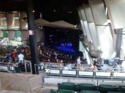 Saratoga Performing Arts Center, vak: 30, rij: n, stoel: 4
