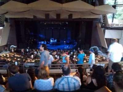 Saratoga Performing Arts Center, vak: 15, rij: g, stoel: 20