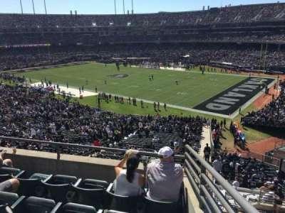 Oakland Alameda Coliseum, vak: 235, rij: 5, stoel: 1