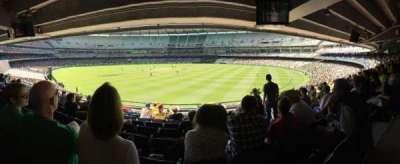 Melbourne Cricket Ground, vak: N13, rij: J, stoel: 18