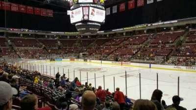 Value City Arena, vak: 118, rij: Q, stoel: 14