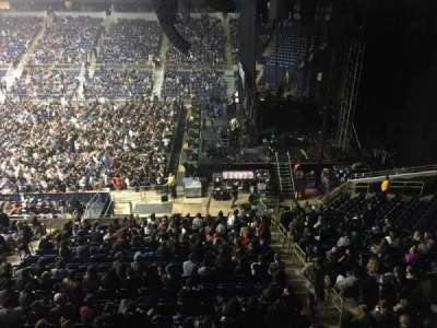 Petersen Events Center, vak: L220, rij: A, stoel: 5