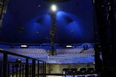 Cirque Du Soleil - Luzia, vak: 105, rij: F, stoel: 1