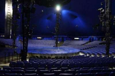 Cirque Du Soleil - Luzia, vak: 205, rij: M, stoel: 9