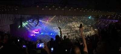 Royal Farms Arena, vak: 307, rij: K, stoel: 11