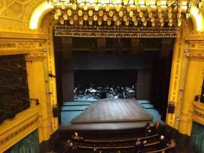 Hudson Theatre, vak: Balcony, rij: A, stoel: 103