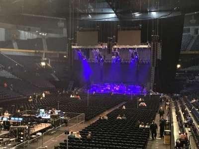 Bridgestone Arena, vak: 102, rij: C, stoel: 19