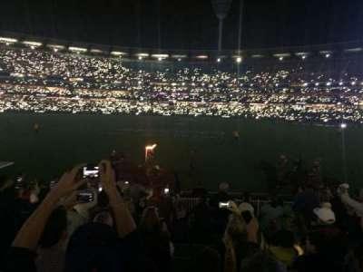Melbourne Cricket Ground, vak: M46, rij: O, stoel: 9
