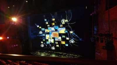 August Wilson Theatre, vak: Mezzanine, rij: A, stoel: 18