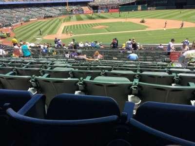 Oakland Alameda Coliseum, vak: 114, rij: 29, stoel: 2