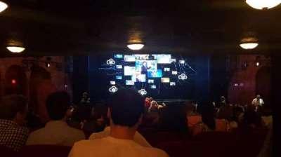 August Wilson Theatre, vak: Orchc, rij: Z, stoel: 113
