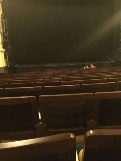 Hudson Theatre, vak: Orch, rij: P, stoel: 103