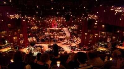 Imperial Theatre, vak: Rear Mezzanine, rij: E, stoel: 6