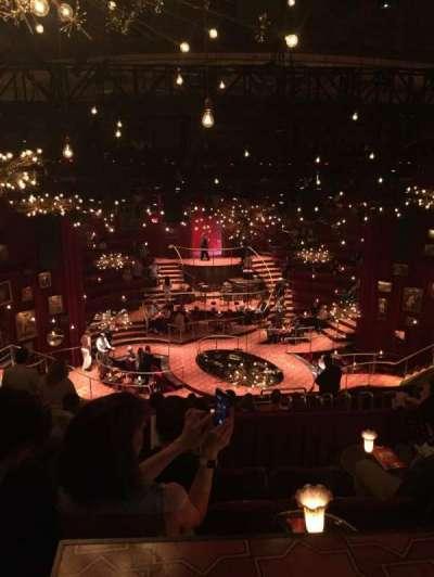 Imperial Theatre, vak: Rear Mezz, rij: E, stoel: 13