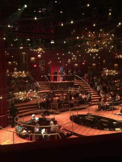 Imperial Theatre, vak: Front Mezzanine Center, rij: A, stoel: 10
