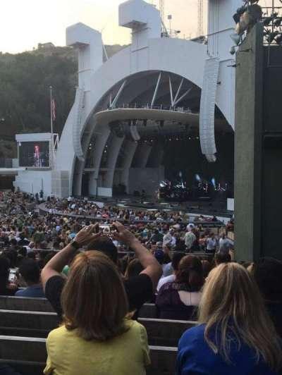 Hollywood Bowl, vak: D, rij: 13, stoel: 44