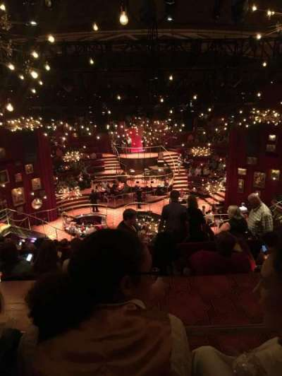 Imperial Theatre, vak: Rear Mezzanine, rij: F, stoel: 110