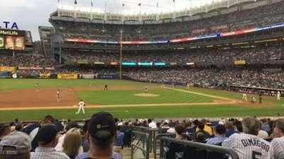 Yankee Stadium, vak: 125, rij: 11, stoel: 1
