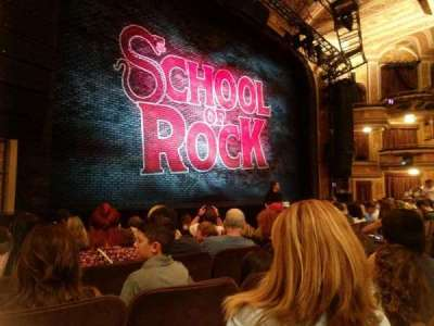 Winter Garden Theatre, vak: Orch, rij: G , stoel: 15