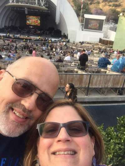 Hollywood Bowl, vak: G2, rij: 6, stoel: 4