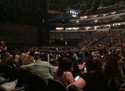 American Airlines Center, vak: 119, rij: C, stoel: 5