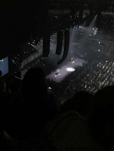 American Airlines Center, vak: 322, rij: Y, stoel: 19