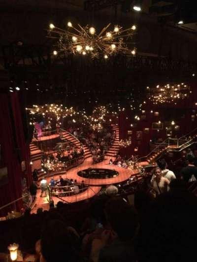 Imperial Theatre, vak: Rear Mezzanine, rij: E, stoel: 7