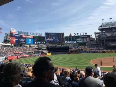 Yankee Stadium, vak: 126, rij: 16, stoel: 3