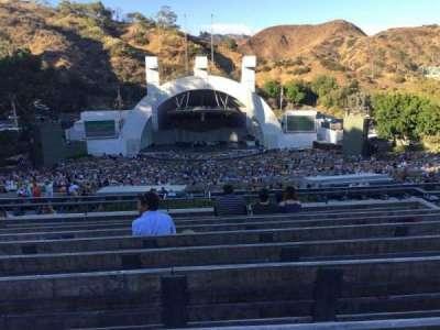 Hollywood Bowl, vak: N-1, rij: 9, stoel: 22