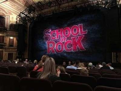 Winter Garden Theatre, vak: ORCH, rij: O, stoel: 8