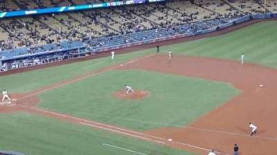 Dodger Stadium, vak: 28RS, rij: G, stoel: 8