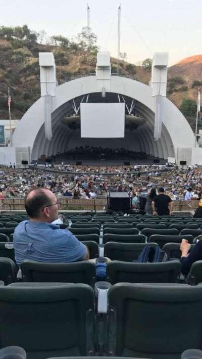 Hollywood Bowl, vak: Super Seats, rij: 15, stoel: 108