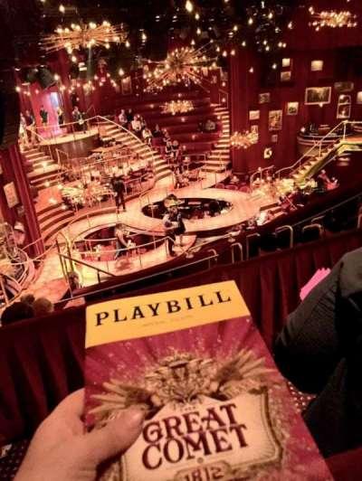 Imperial Theatre, vak: RMEZZ, rij: A, stoel: 4