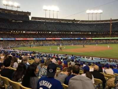 Dodger Stadium, vak: 36FD, rij: P, stoel: 1