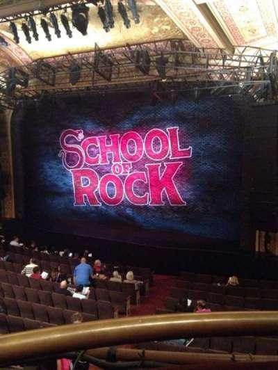 Winter Garden Theatre, vak: Mezz, rij: A, stoel: 2