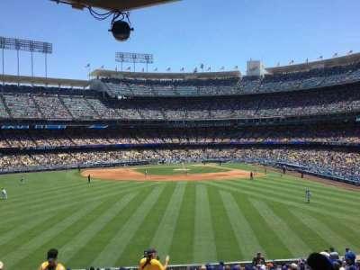 Dodger Stadium, vak: 305PL, rij: Z, stoel: 1
