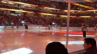Honda Center, vak: 224, rij: B, stoel: 8